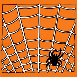 Spider in the web - Men's Premium T-Shirt