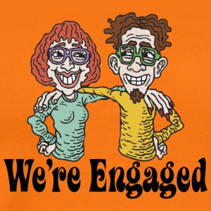 We're Engaged - Men's Premium T-Shirt