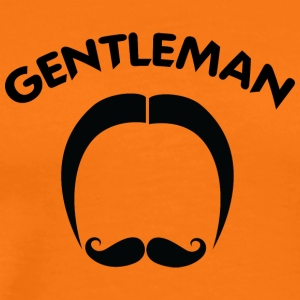 classic GENTLEMAN black - Men's Premium T-Shirt