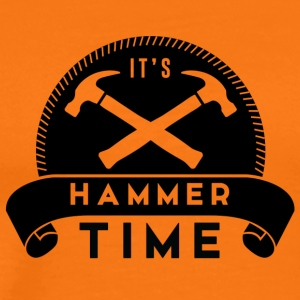 Zimmermann: It's Hammer Time - Men's Premium T-Shirt