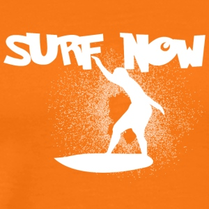 surf now 5 white - Men's Premium T-Shirt