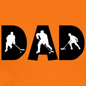 Hockey Dad - Premium-T-shirt herr
