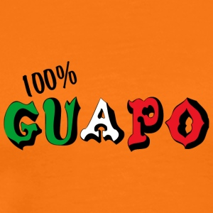 Mexican 100% Guapo - Men's Premium T-Shirt