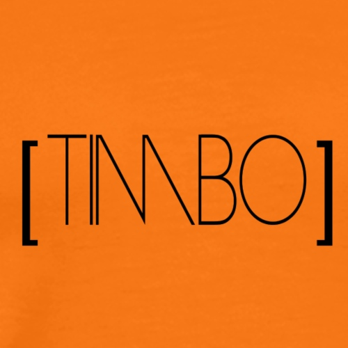 timbo black - Männer Premium T-Shirt
