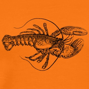 lobster19 - Premium-T-shirt herr