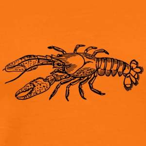 lobster5 - Premium-T-shirt herr