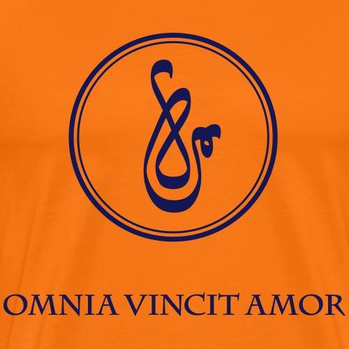 Spirit Power LOVE - Omnia vincit amor - Männer Premium T-Shirt