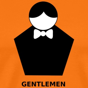 gentlemen - Men's Premium T-Shirt