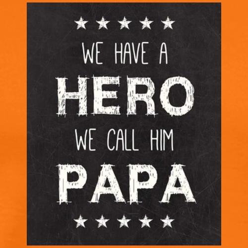 Hero Papa - Mannen Premium T-shirt