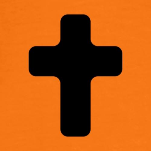 5cc3d69efad600186226ae53f0719036 cross religion go - Premium T-skjorte for menn