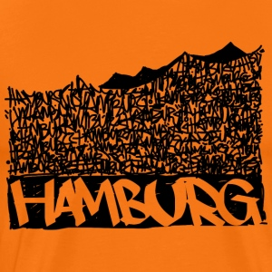 Hamburg Music Hall - Svart - Premium-T-shirt herr