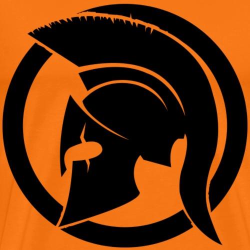 Spartan noir - T-shirt Premium Homme