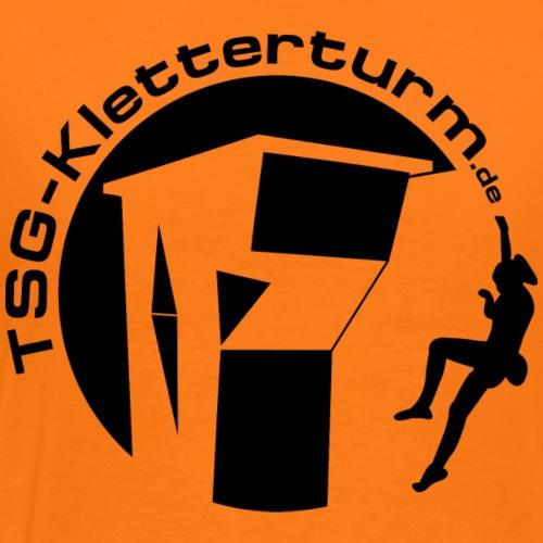 Druck Schwarz - Männer Premium T-Shirt