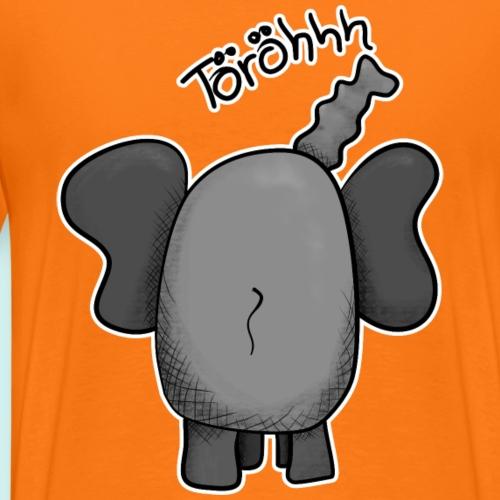 Elefant Töröh , Geschenkidee - Männer Premium T-Shirt
