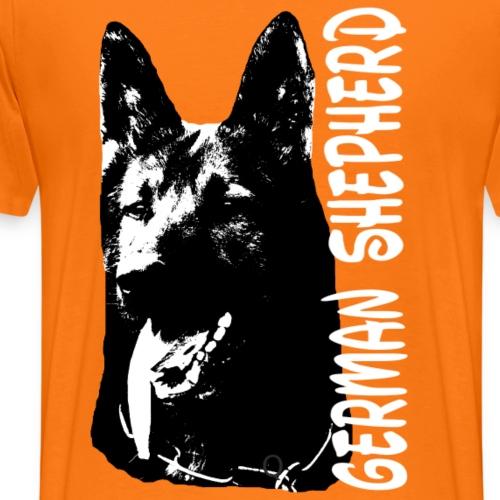 Deutscher Schäferhund,Hunde,,Hundekopf,Hundesport - Männer Premium T-Shirt