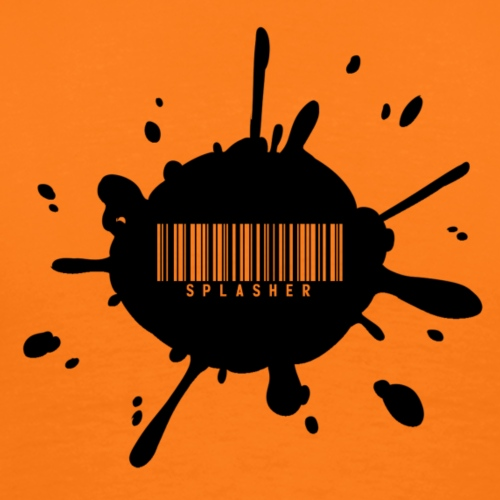 Splasher Bar Code - T-shirt Premium Homme