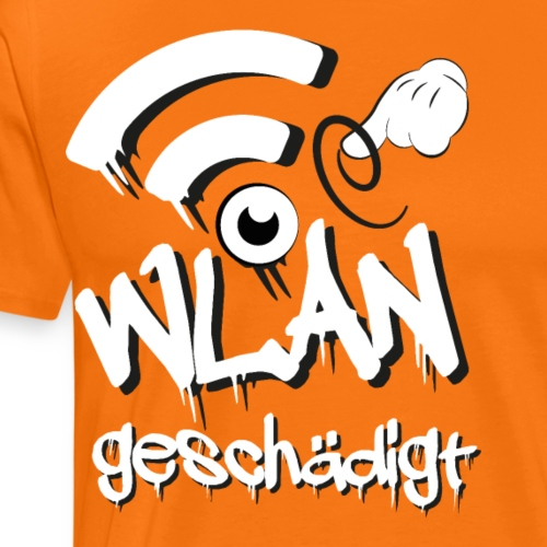 WLAN geschädigt - Männer Premium T-Shirt