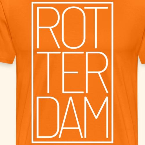 Rotterdam Niederlande Holland Reisende Geschenk - Männer Premium T-Shirt