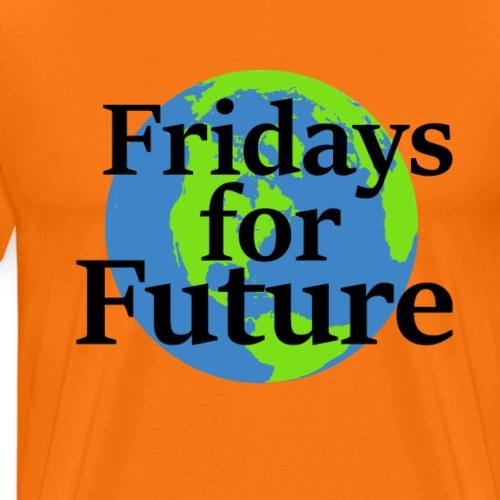 Fridays for Future  Gute Geschenkidee - Männer Premium T-Shirt