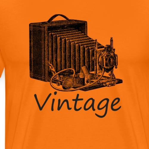 Vintage Kamera  Gute Geschenkidee - Männer Premium T-Shirt
