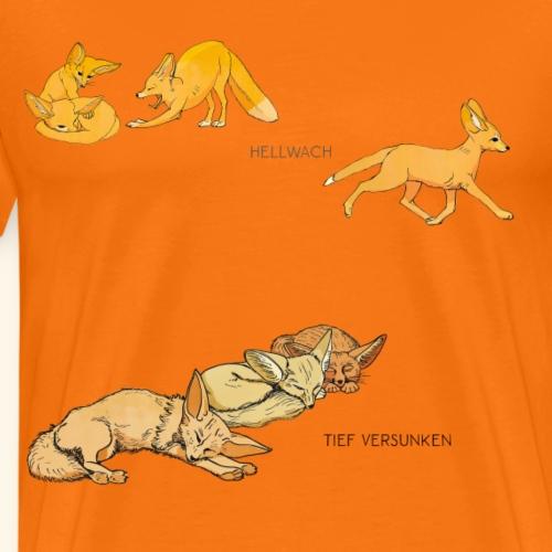 Wüstenfüchse - Männer Premium T-Shirt