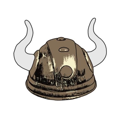 Wikingerhelm - Männer Premium T-Shirt