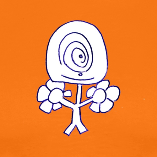 Poppetje 1 oog - Mannen Premium T-shirt
