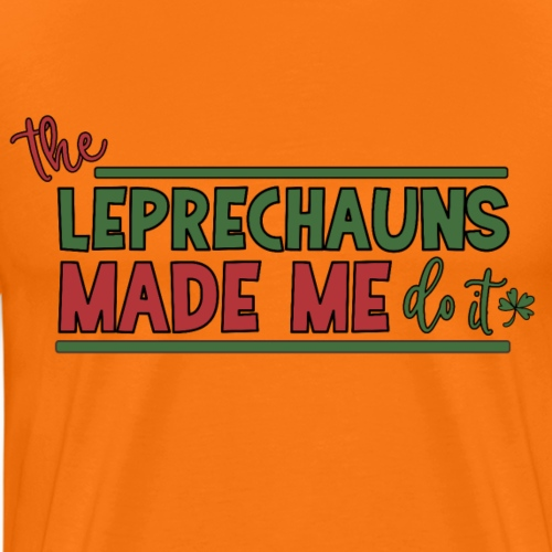 The Leprechauns made me do it - St. Patrick Kobold