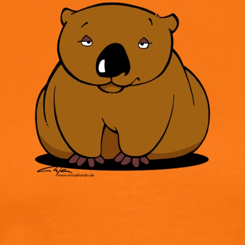 Wombat Wuchtbrummer 01 - Männer Premium T-Shirt