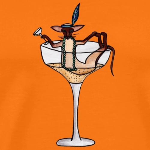 Champagne - Premium-T-shirt herr