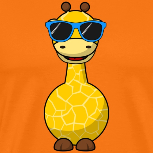 Gigi Giraffe with sunglasses - Appelsin