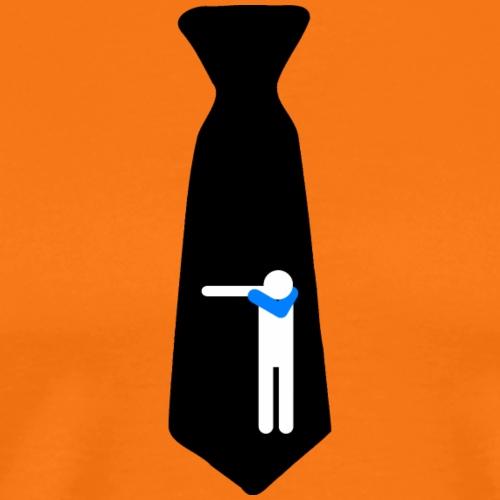 Cravatta Dab Black/ Kravatte / Cravate /Necktie - Maglietta Premium da uomo