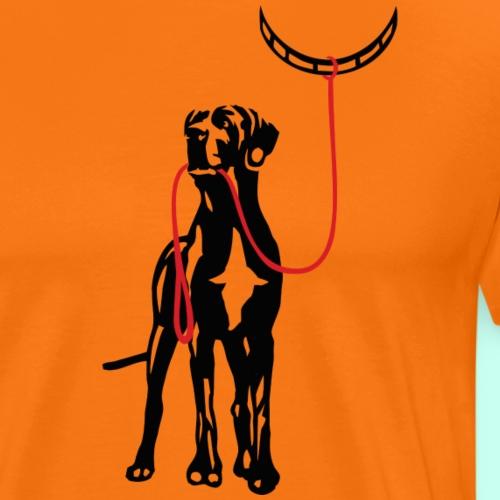 Mensch an der Leine DIGITAL! - Männer Premium T-Shirt