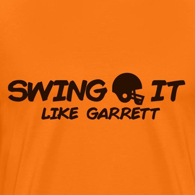 Swing it like Garret