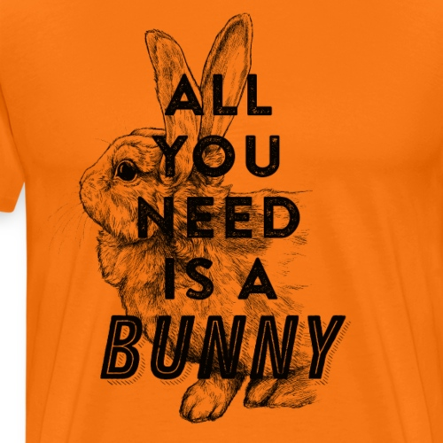 All you need is a bunny - Männer Premium T-Shirt