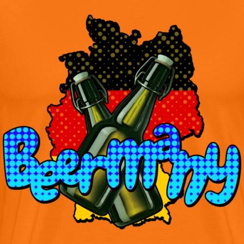 Bierland Deutschland - Männer Premium T-Shirt