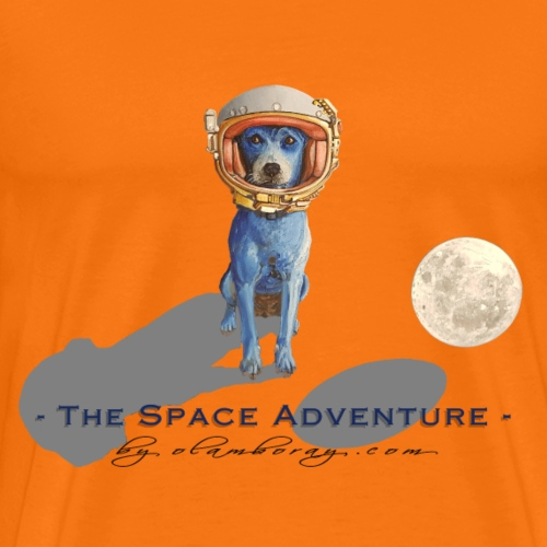 The Space Adventure - Men's Premium T-Shirt