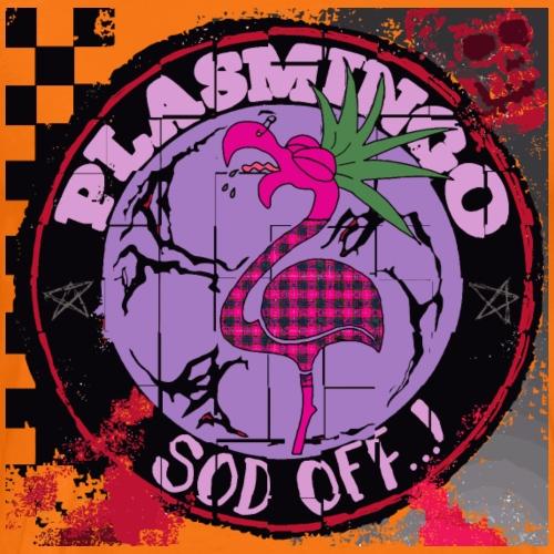 Plasmingo - Sod Off - Premium-T-shirt herr