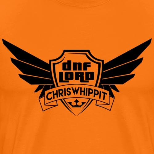 DNF LORD Svart - Premium-T-shirt herr