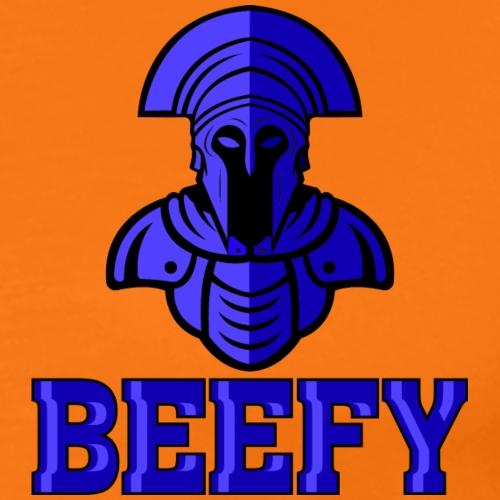 Beefy Blue Warrior png - Men's Premium T-Shirt