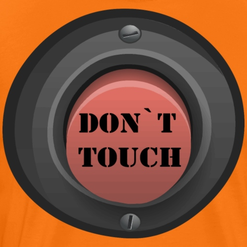 don´t touch - Camiseta premium hombre