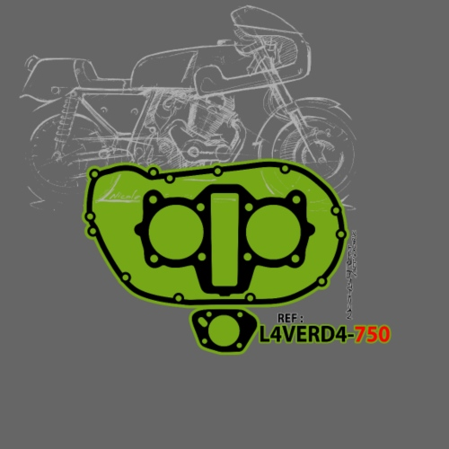 design T shirt L4VERD4 750 - T-shirt Premium Homme