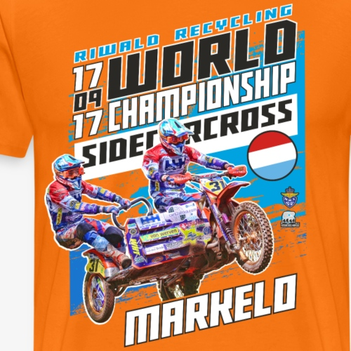Motorcross Markelo 17 september 2017 - Mannen Premium T-shirt