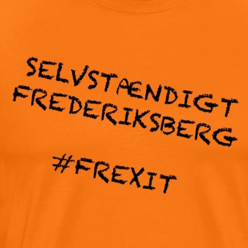 Selvstændigt Frederiksberg #FREXIT - Herre premium T-shirt