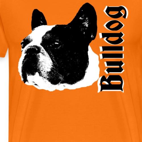 Bulldog, Französische Bulldogge,Bulldoggen,Hunde, - Männer Premium T-Shirt