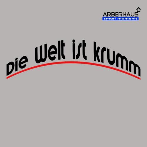 Welt ist krumm - Männer Premium T-Shirt