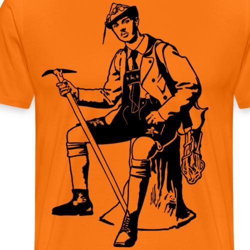 Auf in die Berg - Männer Premium T-Shirt