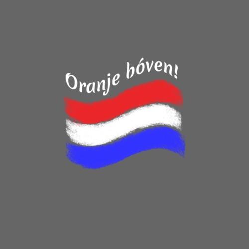 Oranje Boven subtiel ENKELZIJDIG - Mannen Premium T-shirt