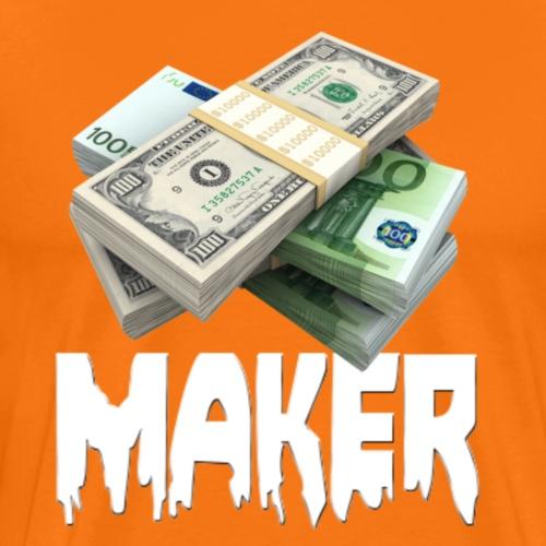 MONEYMAKER - Mannen Premium T-shirt