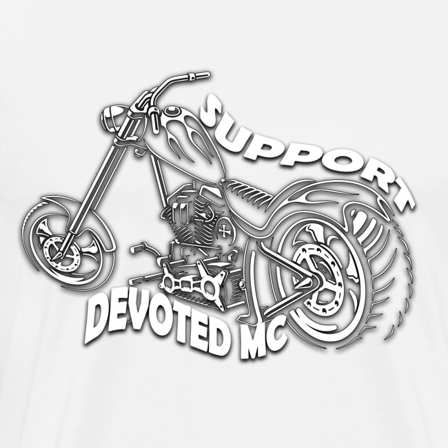 T-Shirt DEVOTEDMC SUPPORT CHOPPER